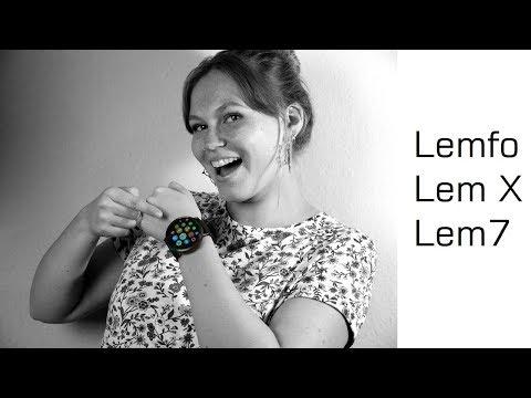 Lemfo Lem X und Lemfo Lem7 - LTE Android Smartwatch Review - Moschuss.de