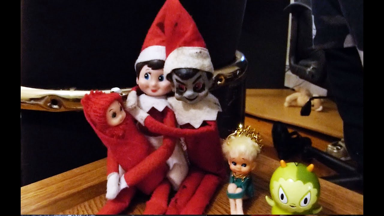 Elf on the Shelf: Happy Halloween! - YouTube