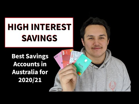 The BEST Savings Accounts In Australia In 2020/21