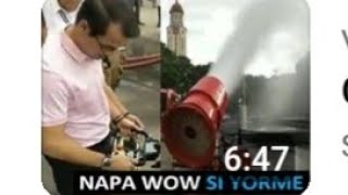 Remote control na firefighters //new technology //yorme isko moreno