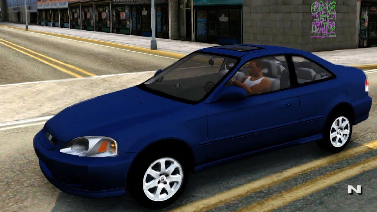 1999 Honda Civic Si Coupe  GTA San Andreas  YouTube