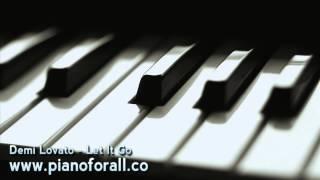 Demi Lovato - Let It Go [MIDI + Sheet Music]