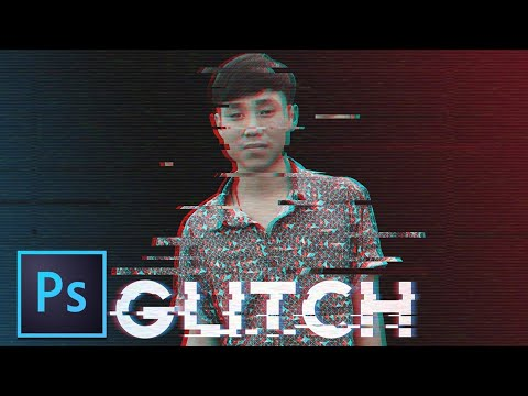 Cara Membuat Efek Glitch - Tutorial Photoshop Bahasa Indonesia