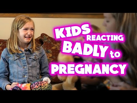 Best kids reacting to pregnancy badly compilation | Try not to giggle | All Things Internet