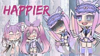Happier (Marshmello ft. Bastille ) - Gacha Life Music Video