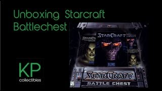HD Starcraft 1 Battle Chest Edition Unboxing