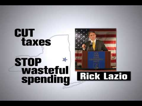 Conservative Party Ad For Rick Lazio