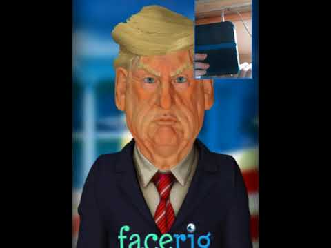 Why is Donald Trump in this game!? # Facerig ep:3 |