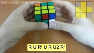 Rubik Küp Basit OLL Algoritmaları-1