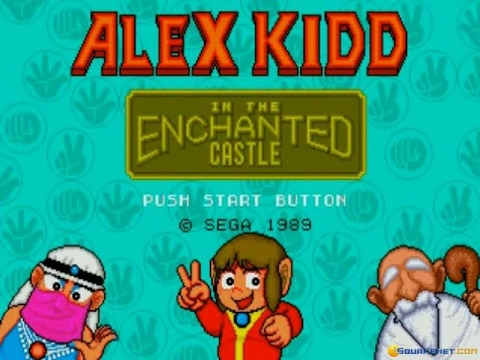 Alex Kidd in the Enchanted Castle gameplay (PC Game, 1989)