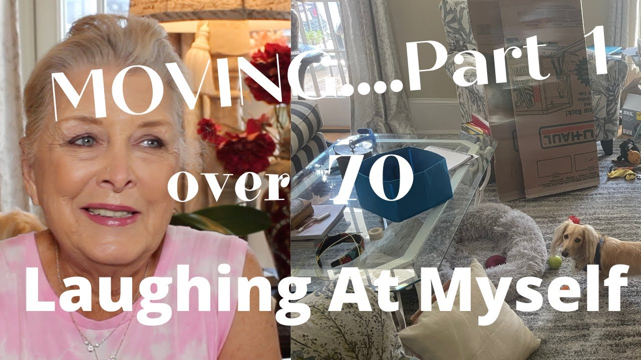 CAN YOU LAUGH AT YOURSELF?  FUNNY STORY~Our BIG MOVE~INJURIES~PART 1~OVER  70~ WEDDING ANNIVERSARY 🏡