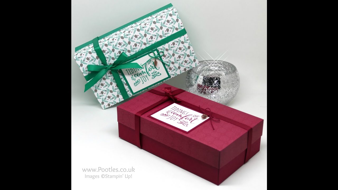 Download Pootles Advent Countdown 2016 Presents & Pinecones Large Lidded Box