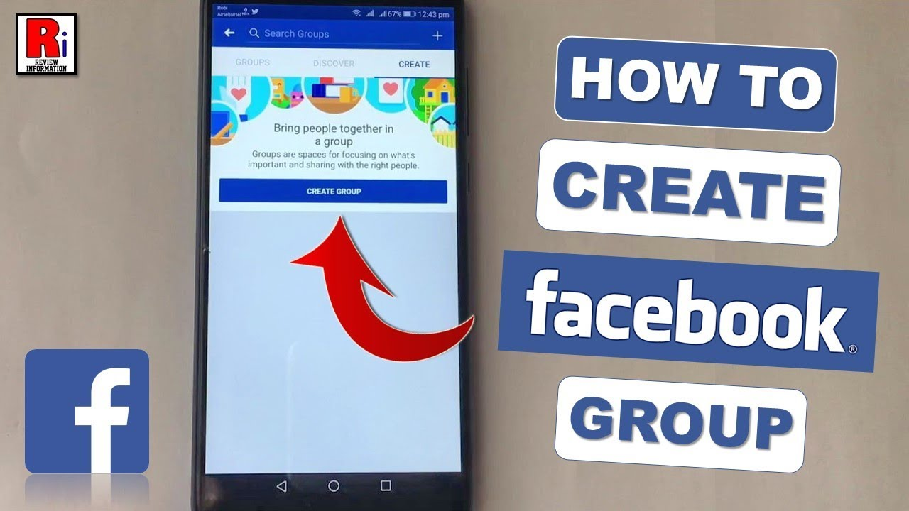 HOW TO CREATE A FACEBOOK GROUP FROM ANDROID DEVICE