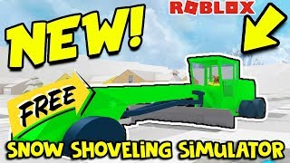 HOW TO GET THE GRADER FOR FREE! | (Snow Shoveling Simulator) | ROBLOX
