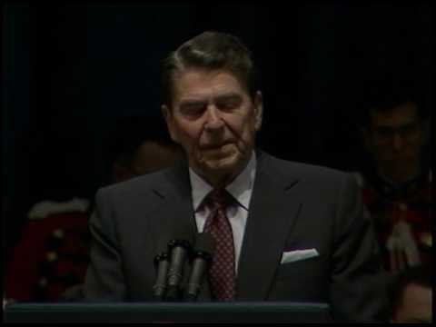 President Reagan's Remarks at the 1986 Reagan Administration Executive Form on February 6, 1986