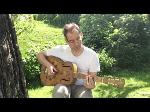 Amazing Grace - slide guitar open D tuning by Gottfried David Gfrerer