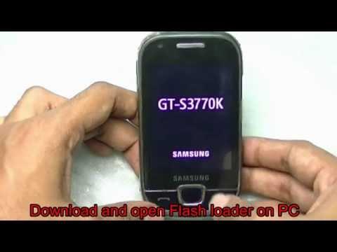 Samsung S3370 flashing with Flash Loader tool