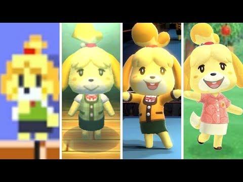Evolution Of Isabelle (2012-2020)
