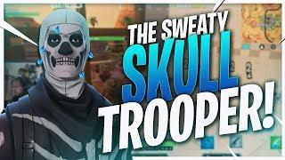 THE SWEATIEST SKULL TROOPER! INTENSE SOLO WIN (Fortnite BR Full Match)