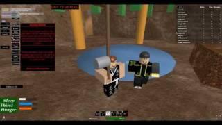 Jogando roblox - Hunger game Ep 1!