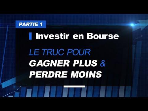 Investir en Bourse (Partie 1), pour gagner plus et perdre moins une chose à saisir (Pierre Sabatier)