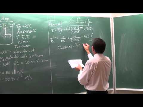 Lecture 13 (2013). Transient heat conduction in multidimensional systems