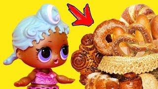 ТОП 10 ИДЕЙ ВЫПЕЧКИ для кукол - МИНИАТЮРНАЯ ЕДА Своими Руками DIY Анна Оськина