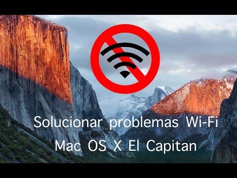 Solucionar Problemas Wifi Mac OS X El Capitan 10 11