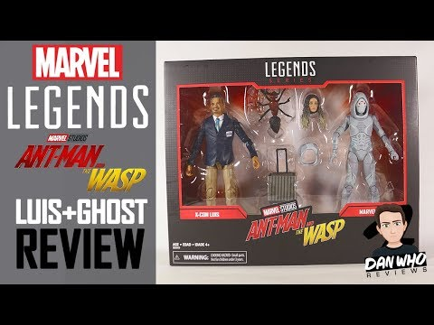 Marvel Legends Luis & Ghost Ant Man & The Wasp Marvel 80th Anniversary 2 Pack Review