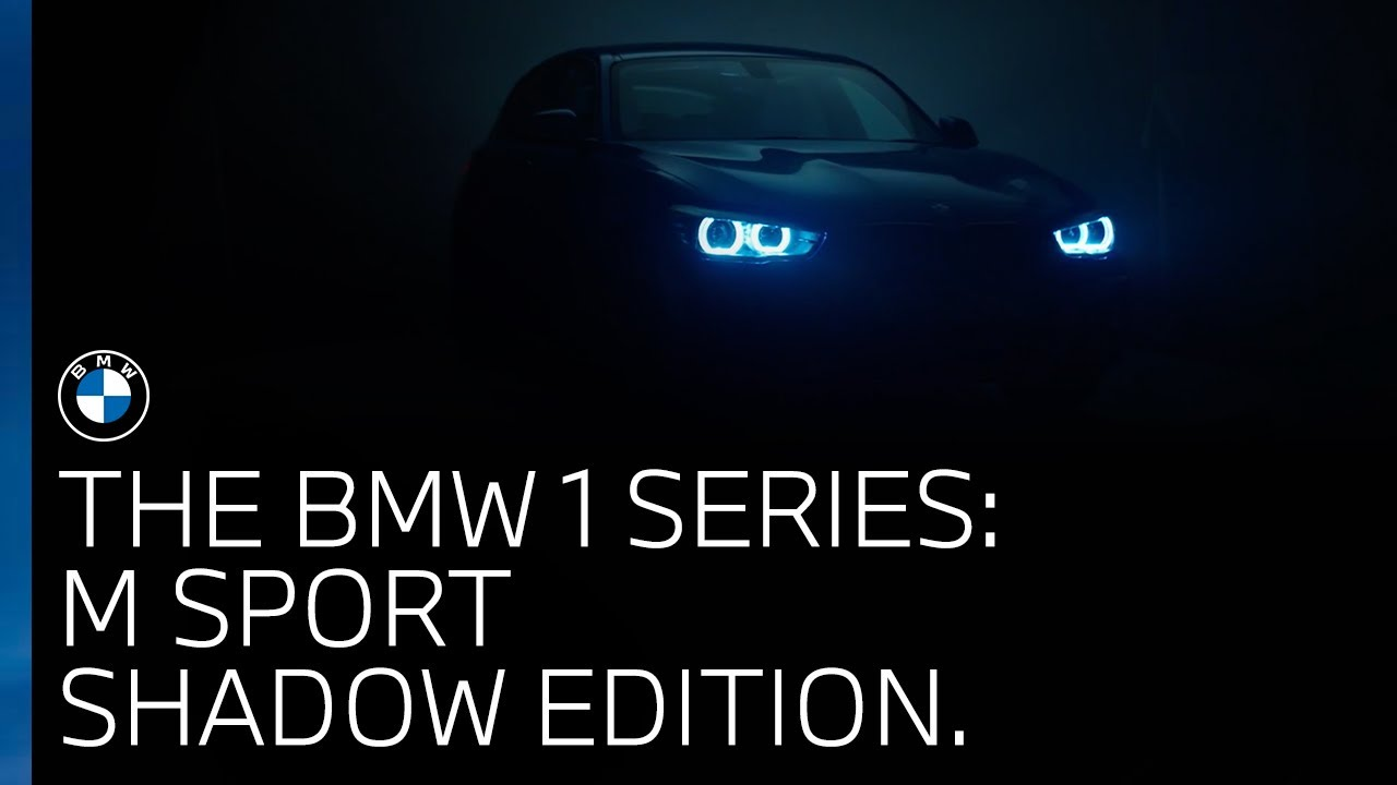 The Bmw 1 Series Explore The M Sport Shadow Edition