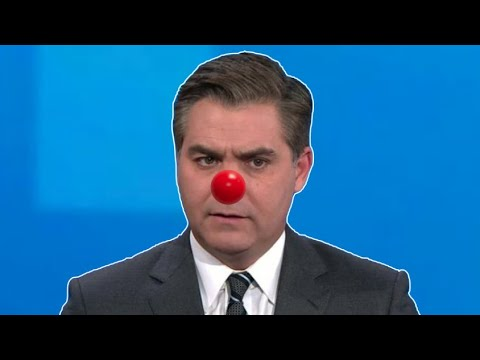 "Jim Acosta Admits ""Post-Trump Stress Disorder"" ?"
