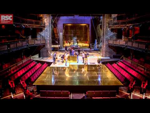 Stage Timelapse | The Merchant of Venice | Royal Shakespeare Company
