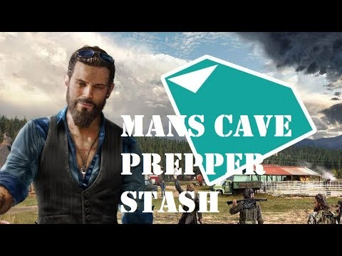 Man Cave Far Cry 5 Walkthrough : Far cry prepper stash walkthrough mans cave youtube
