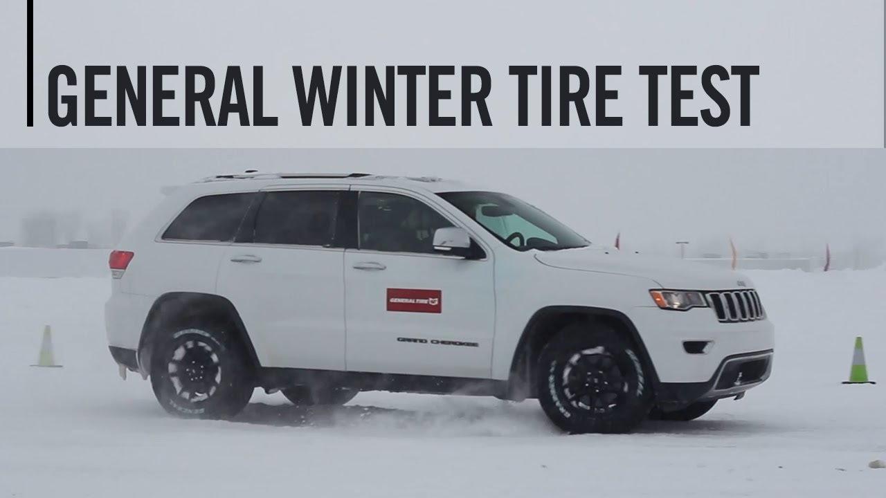 General Grabber Apt Atx Winter Tire Test Youtube