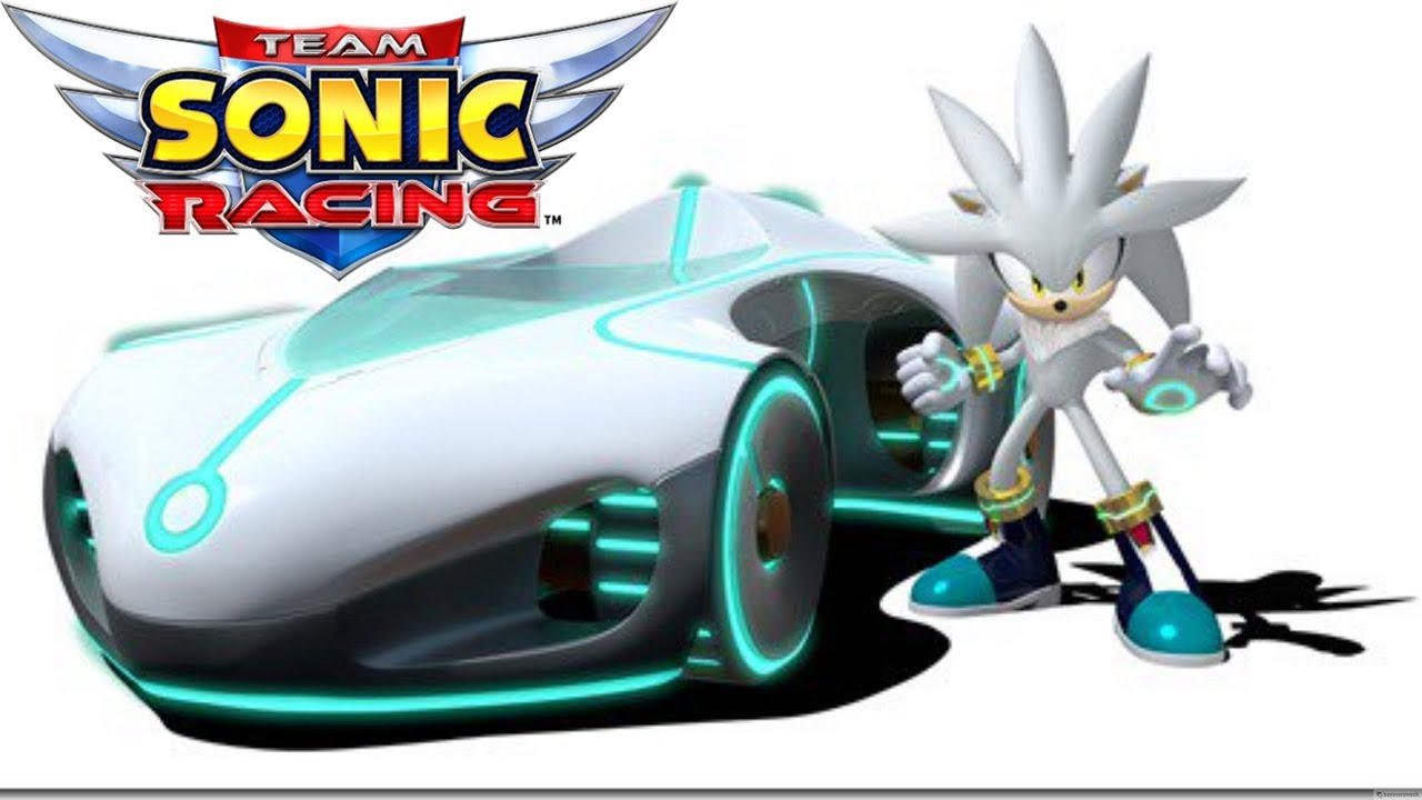 Gameplay Of Silver The Hedgehog In Sonic Team Racing Did