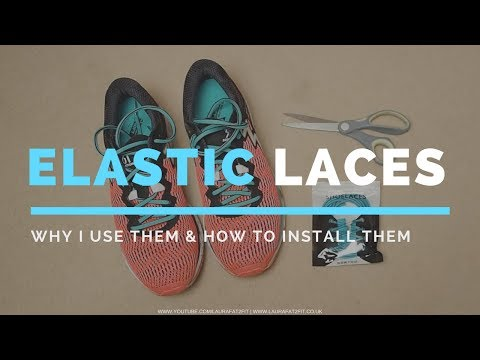 Elastic Shoe Laces – Why I Use Them & How To Install Them | Laura : Fat to Fit