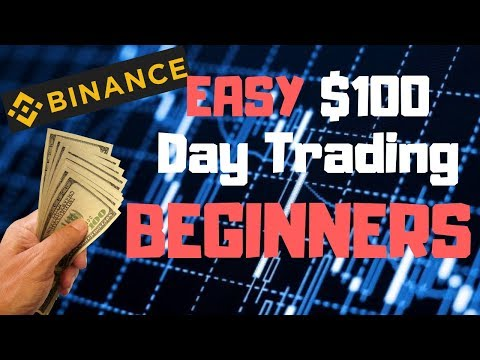 Easy Way To Make $100 Day Trading Cryptocurrency As A Beginn