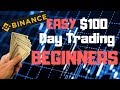 Easy Way To Make $100 Day Trading Cryptocurrency As A Beginner |  Simple Steps