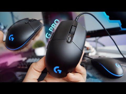 Logitech G PRO ¿Realmente vale la pena? Gaming Mouse