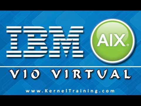 IBM AIX VIO Virtual I/O Server LPAR Tutorial Training
