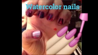 How To Do Water Marbled Nails | Grace Gebhart Thumbnail