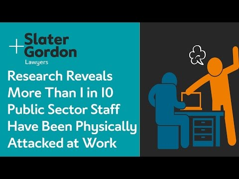 Research Reveals More Than 1 in 10 Public Sector Staff Have Been Physically Attacked at Work