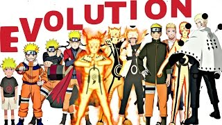 Naruto:All Characters Evolution Forms | Naruto Shippuden,Naruto The Last,Naruto Gaiden,Boruto Anime