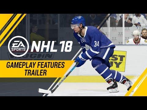 NHL 18   Gameplay Features Trailer – Creative Attack Dekes, Defensive Skill Stick, Creative AI