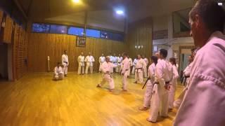 Opening course #1 - 25ème anniversaire du karaté JKA à BOULOGNE/MER...