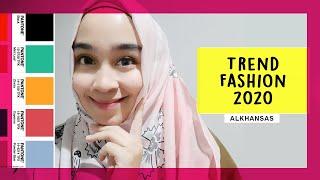 Trend Fashion 2020 | Trend Fashion Muslim  2020 | Trend Fashion Indonesia