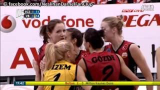 Eczacibasi Vitra Vs   Vakifbank  l 2015–2016 Turkish Women's Volleyball League [Round 13]