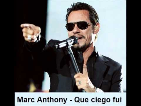 Ver Video de Marc Anthony Nick introduces Marc Anthony - Que ciego fui