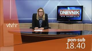 VTV Dnevnik najava 14. studenog 2018.