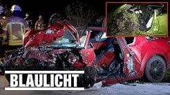 Drei Tote nach Frontal-Crash im Saarland